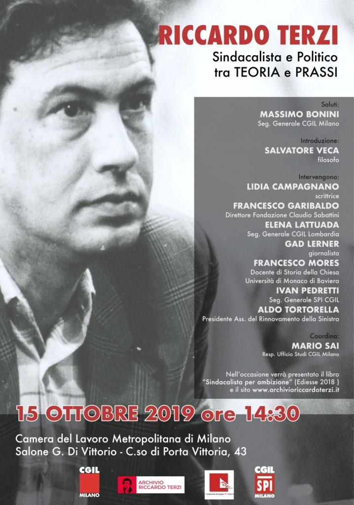Riccardo TerziSindacalista e politico tra Teoria e Prassi