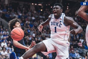 Zion Williamson, il carro armato che vola