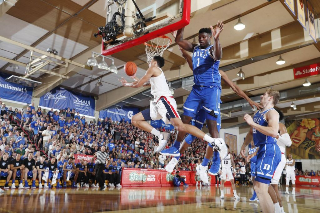 BasketballNcaa - Duke - Zion Williamson