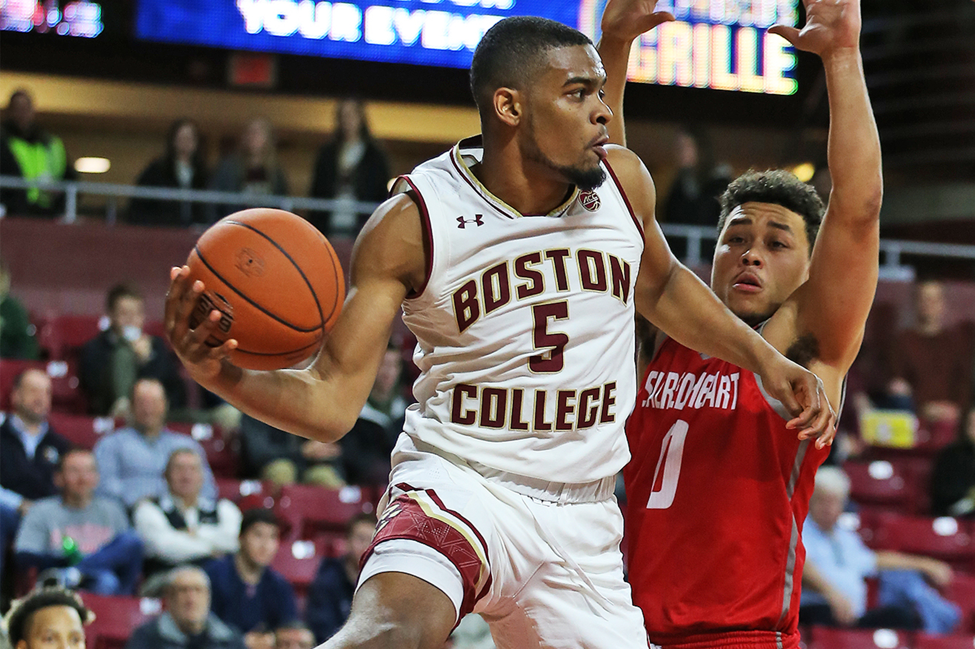 BasketballNcaa - Boston College - Wynston Tabbs