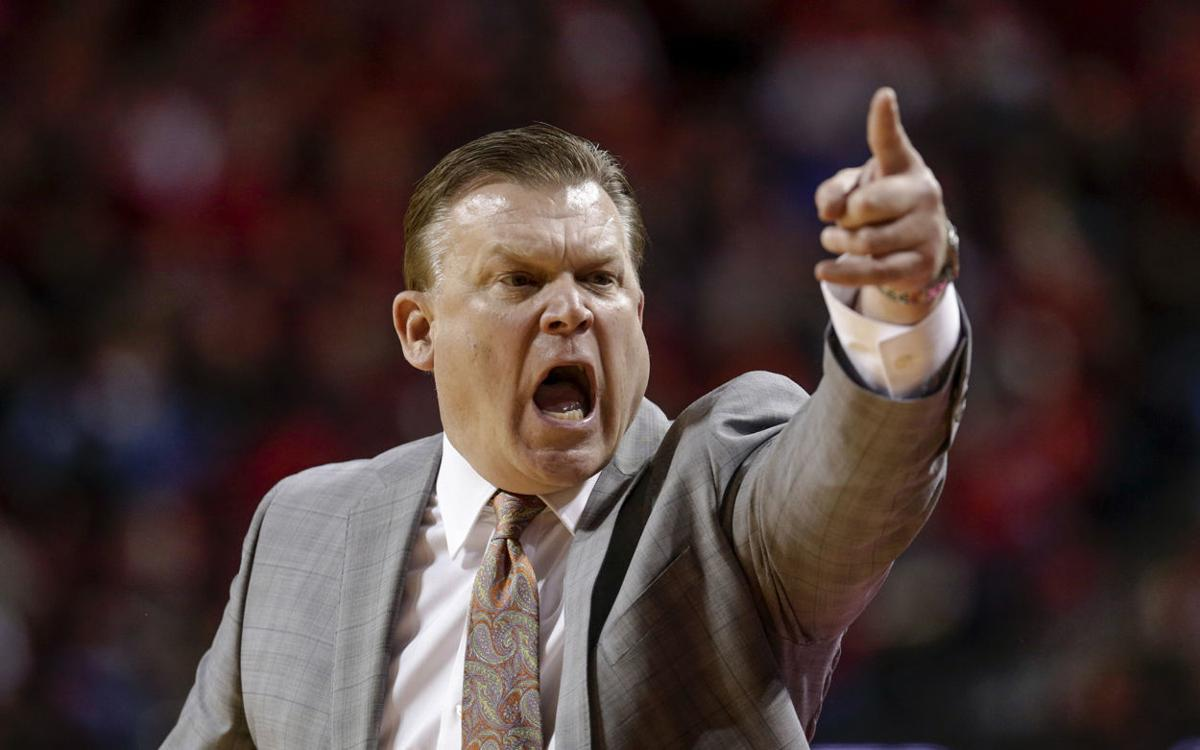 Brad Underwood - coach Illinois