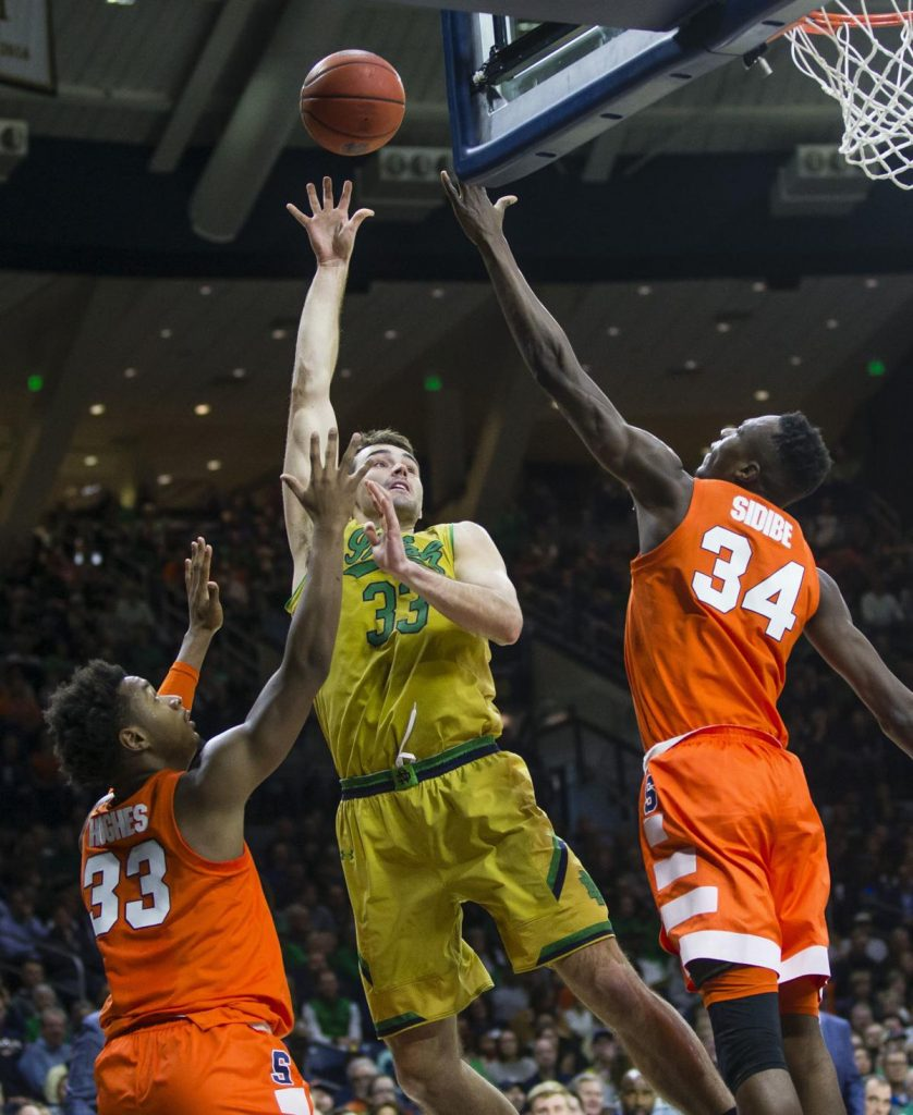 BasketballNcaa - Notre Dame - John Mooney
