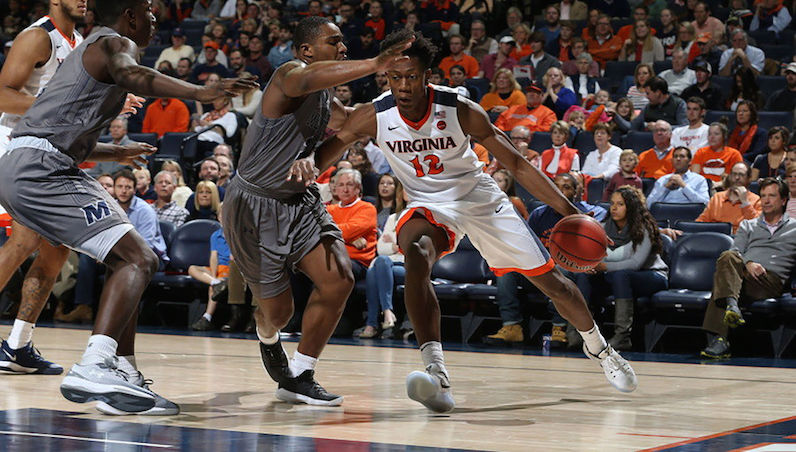 BasketballNcaa - De'Andre Hunter - Virginia