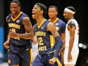 #12 Murray State, Morant one man show