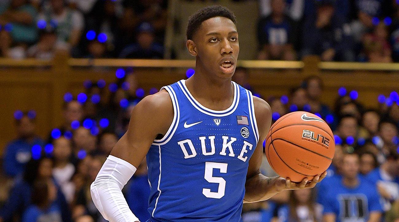 Duke - RJ Barrett - BasketballNcaa