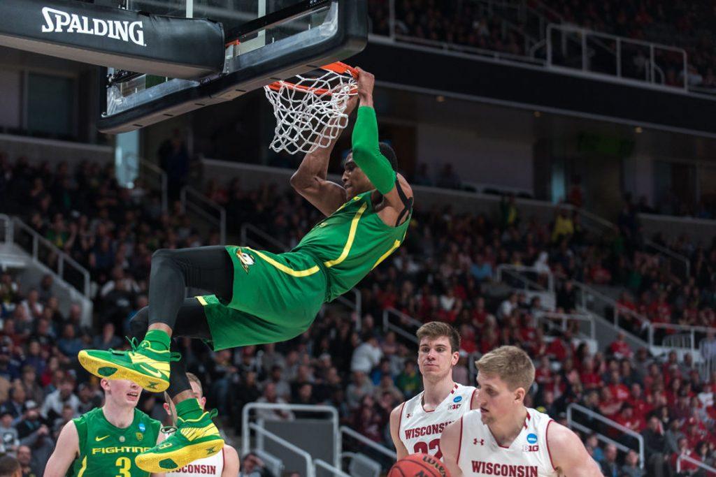 BasketballNcaa - Kenny Wooten - Oregon