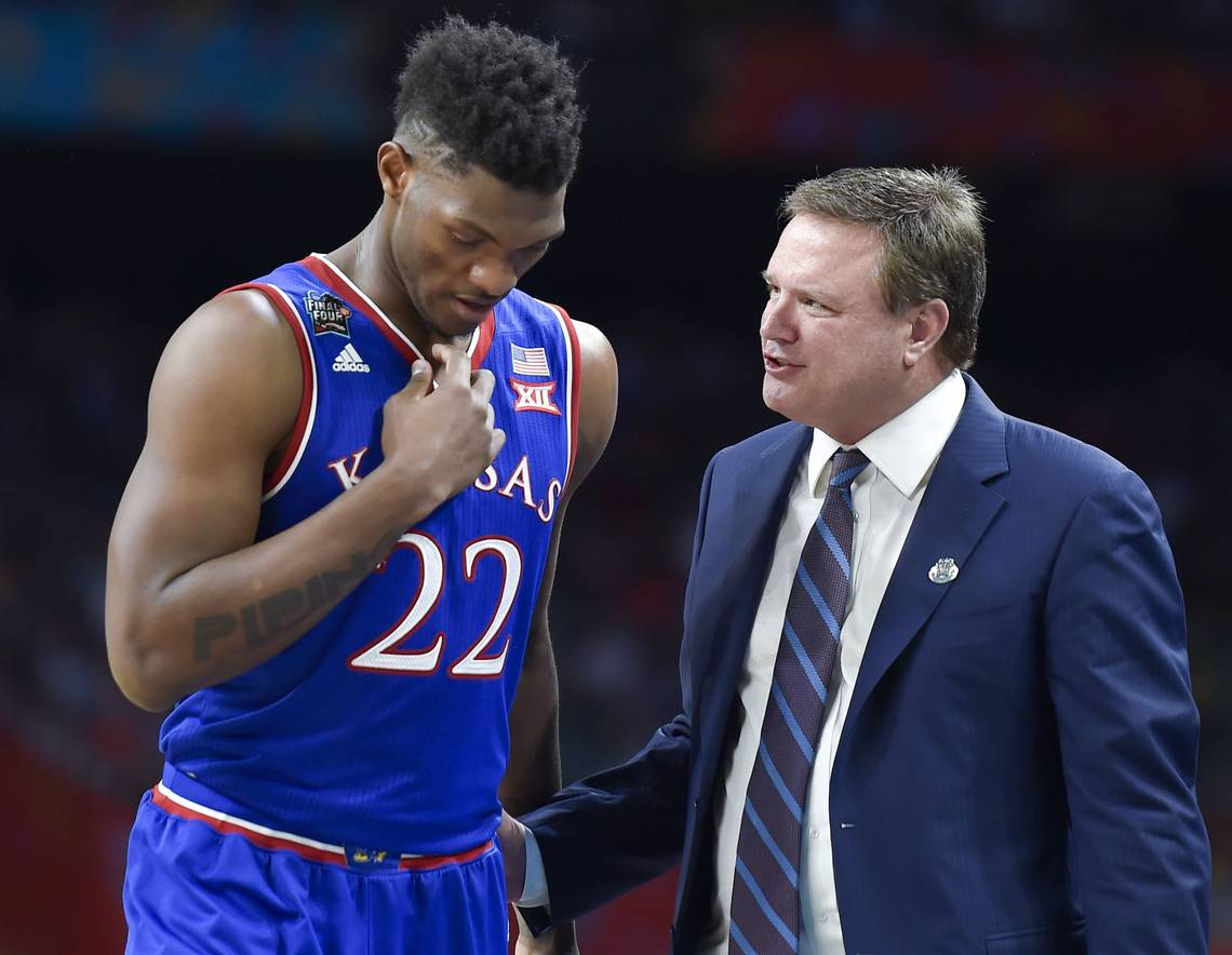 Bill Self e Silvio De Sousa