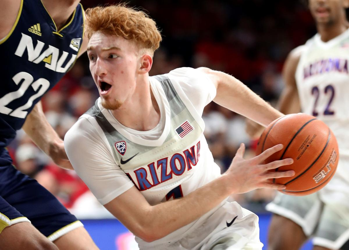 Nico Mannion vs NAU