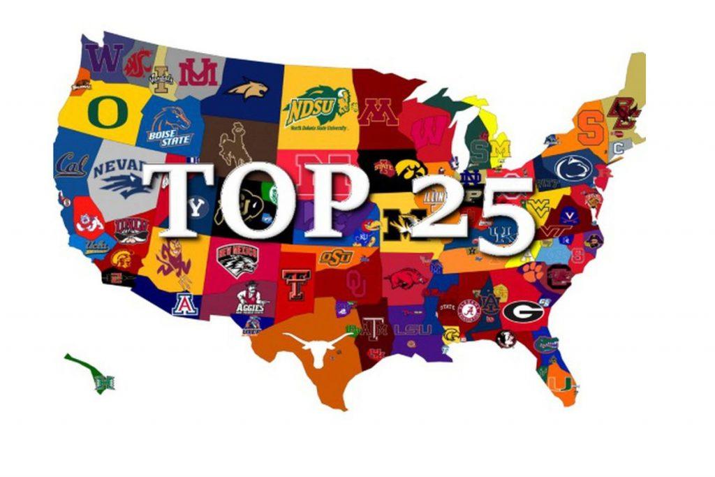 Top 25 ncaa