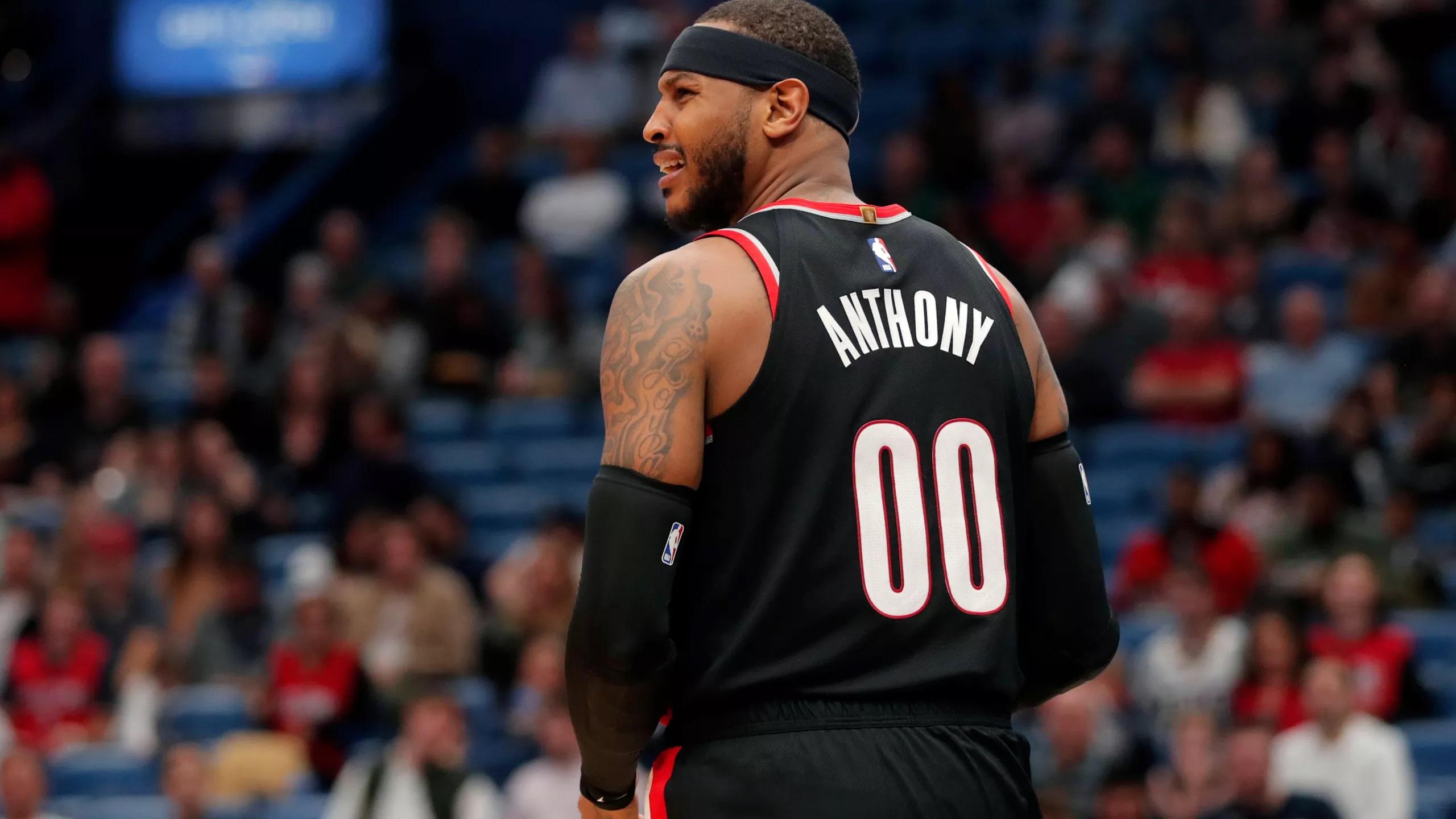 Carmelo Anthony è tornato, Portland no
