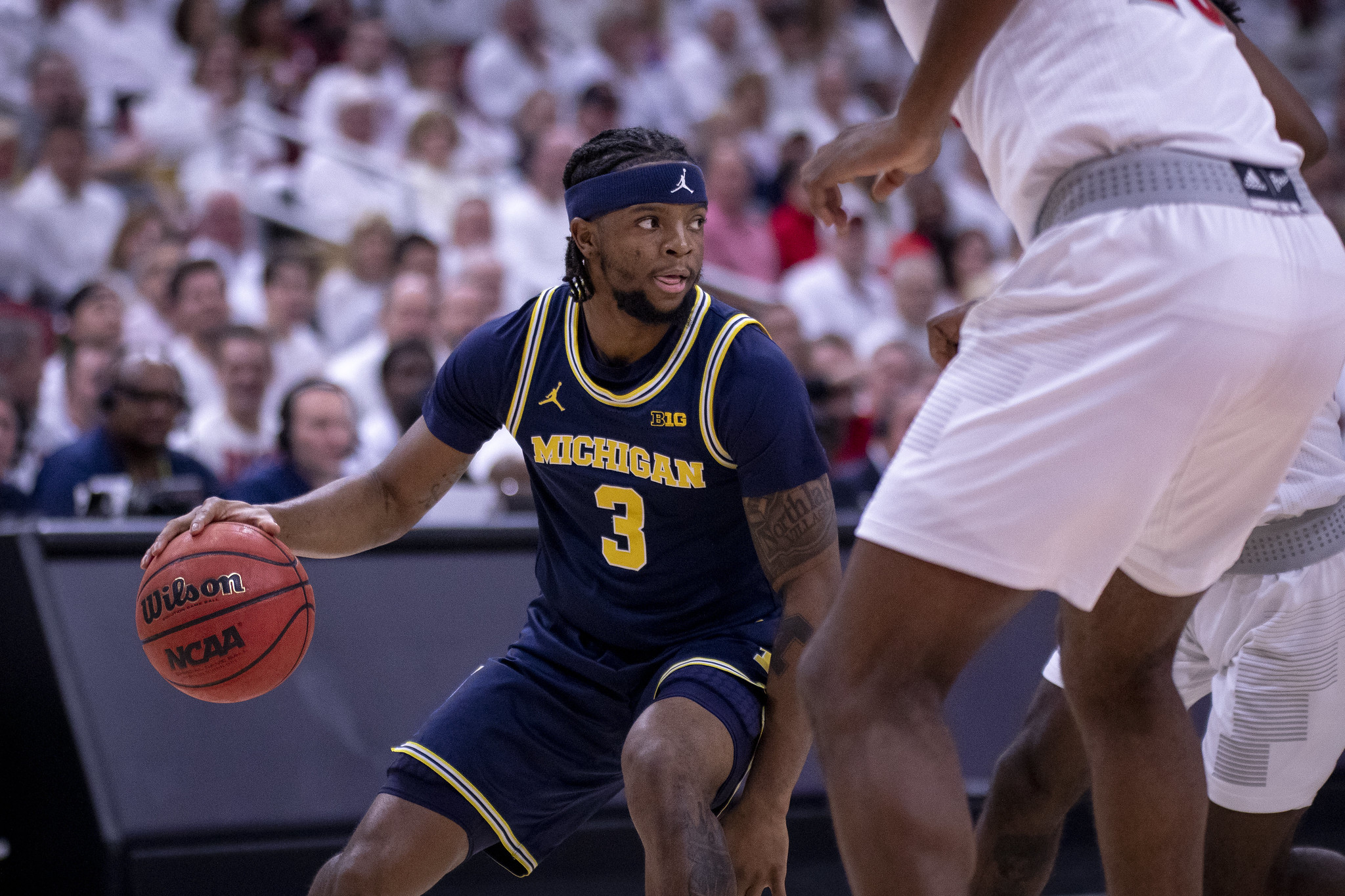 Zavier Simpson Michigan at Louisville