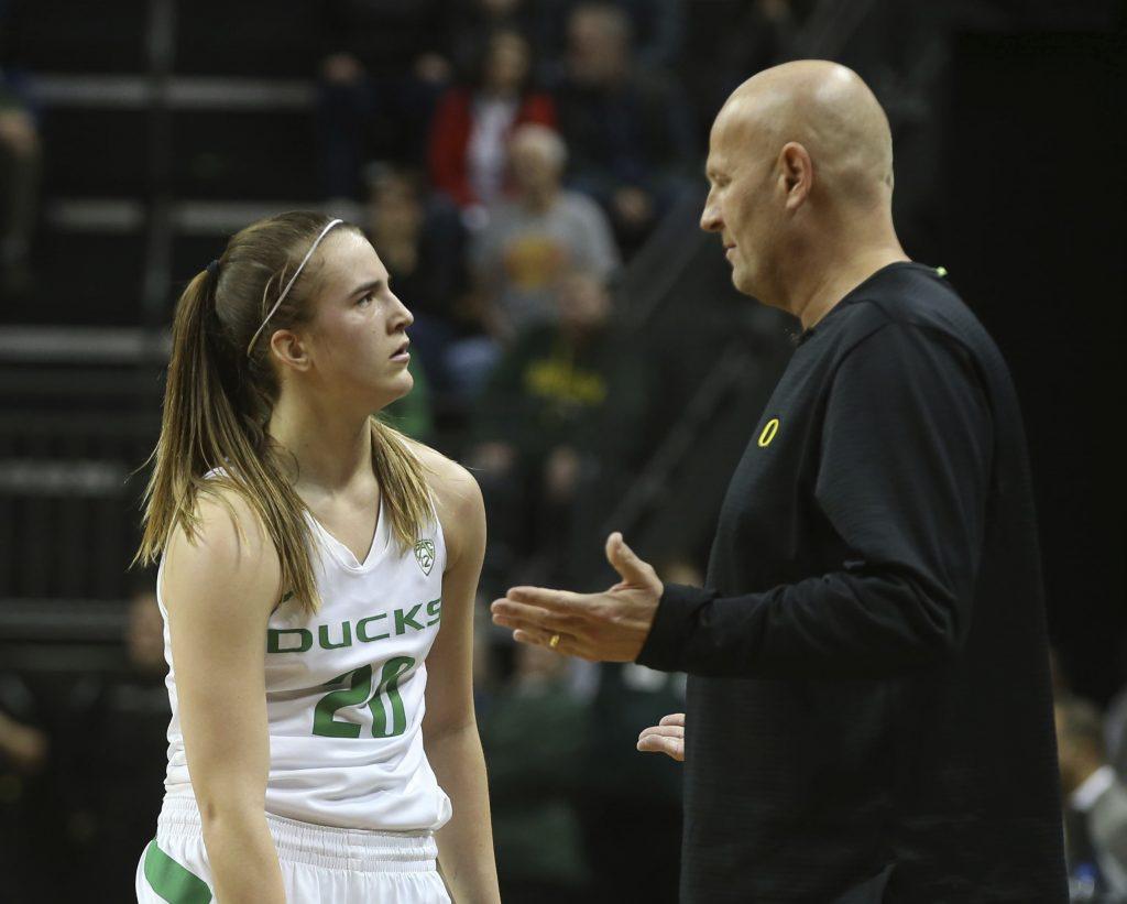 Sabrina con coach Graves