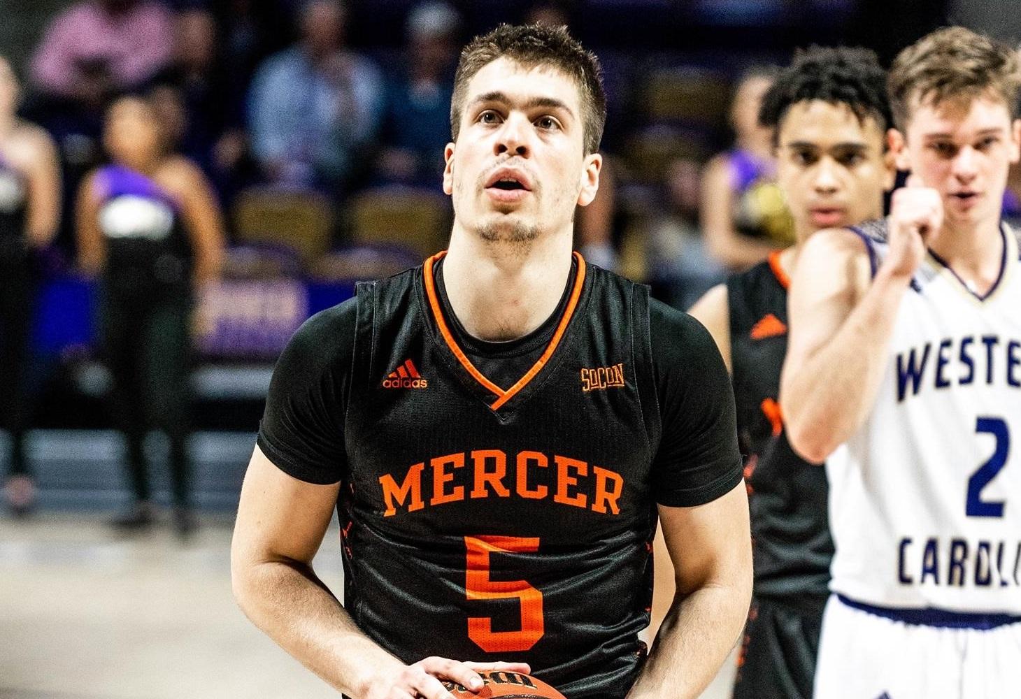 Djordje Dimitrijevic Mercer Europei in NCAA Gennaio 2020