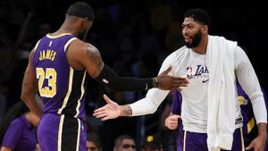 Los Angeles Lakers - LBJ-AD-