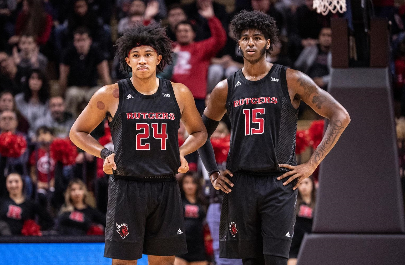 Ron Harper Jr. Myles Johnson Rutgers