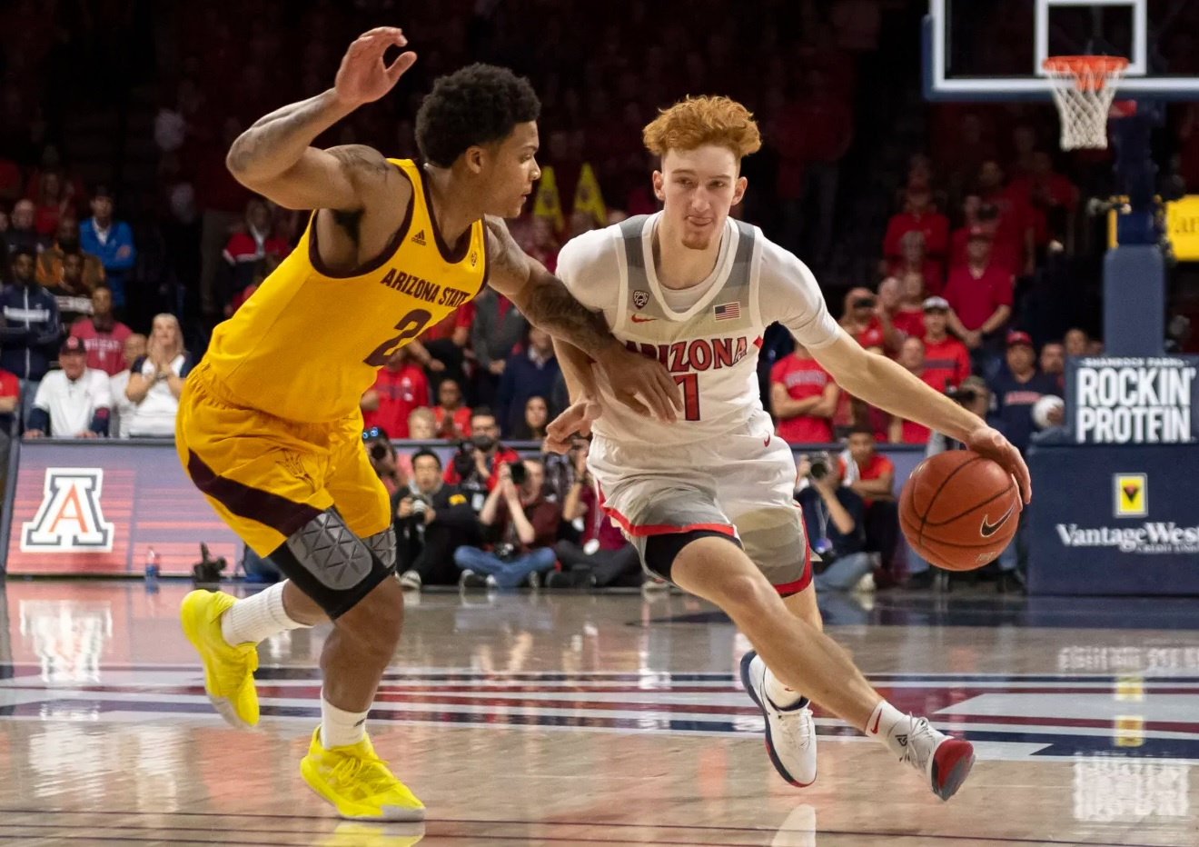 Nico Mannion Arizona ASU