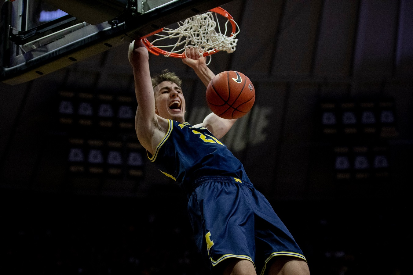 Franz Wagner Michigan at Purdue Top 5 Europei in NCAA