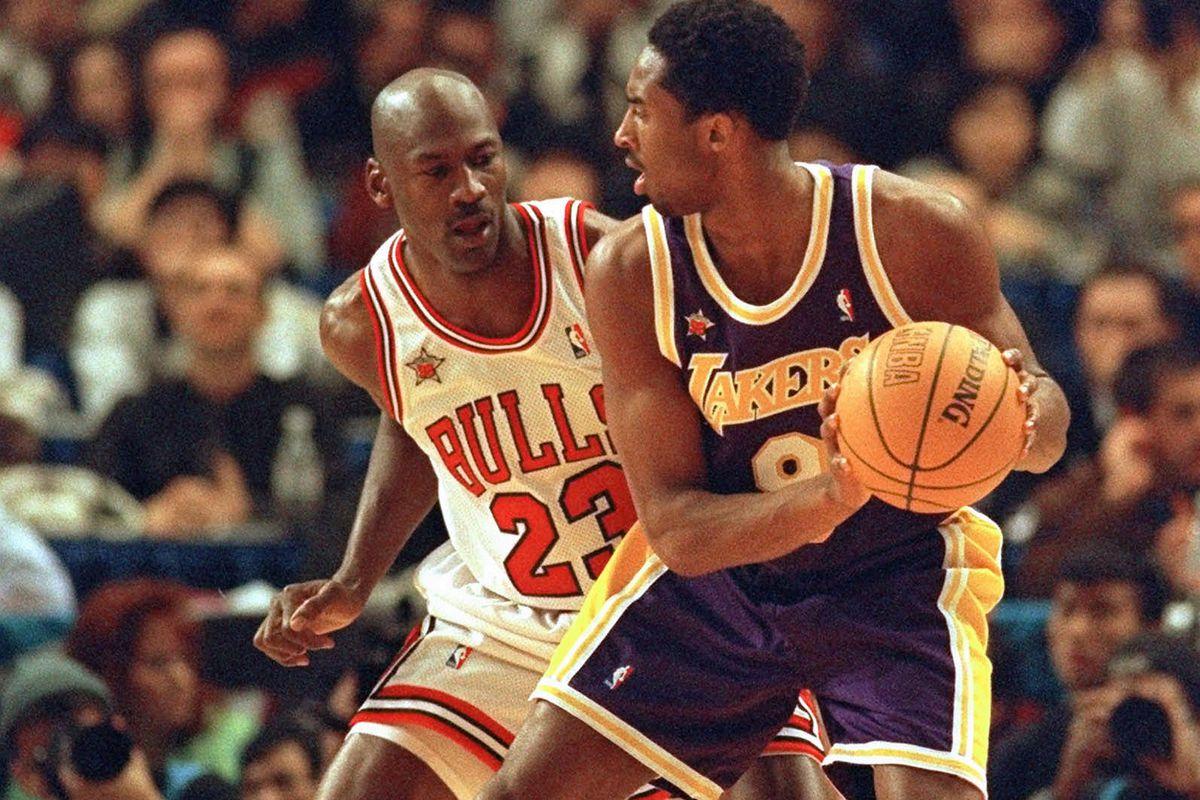 BasketballNcaa - Kobe&Mike - Jordan