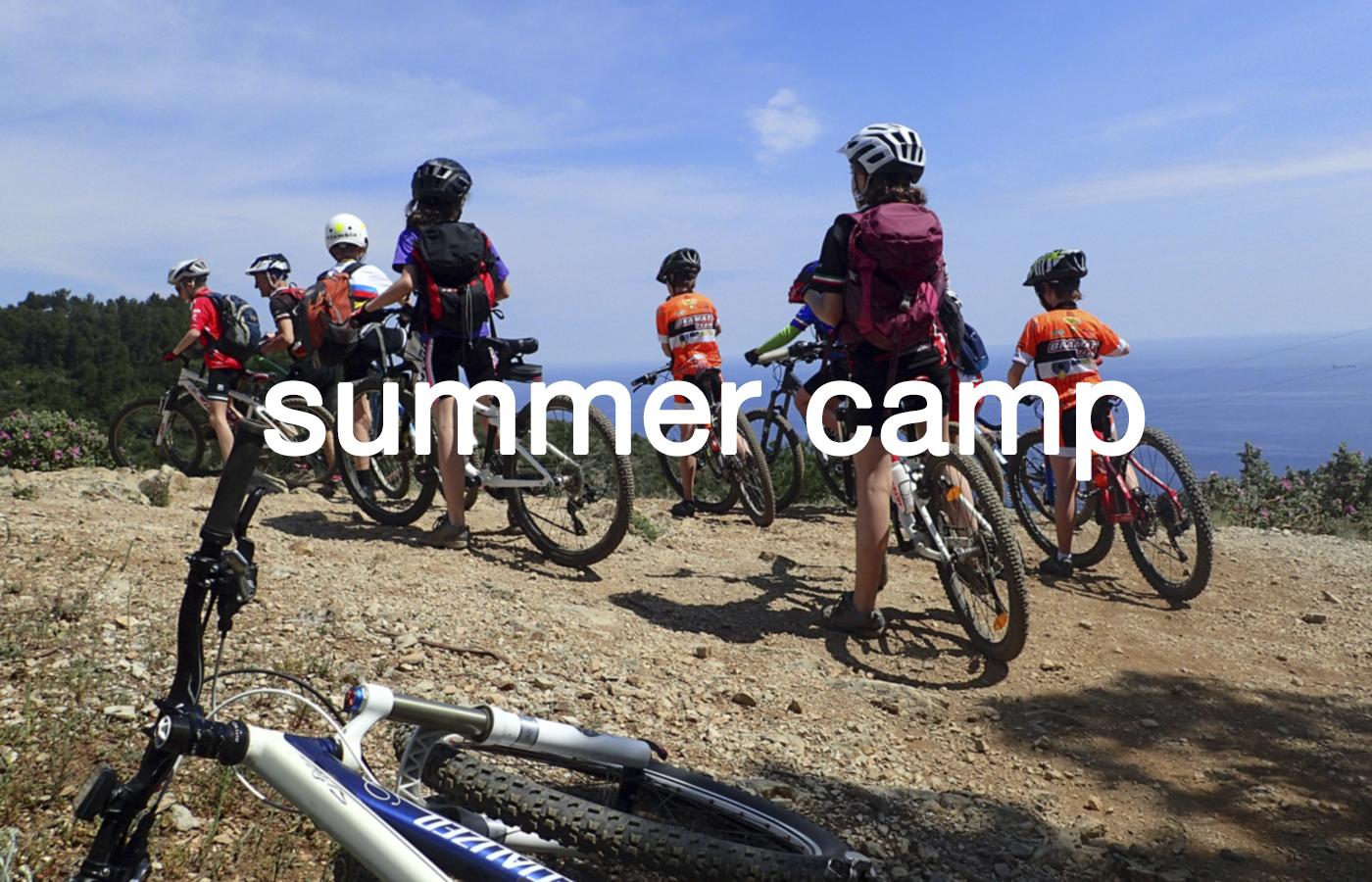 corsi di bicicletta:summer camp