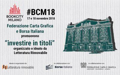Bookcity Milano #BCM18 17 e 18 novembre 2018