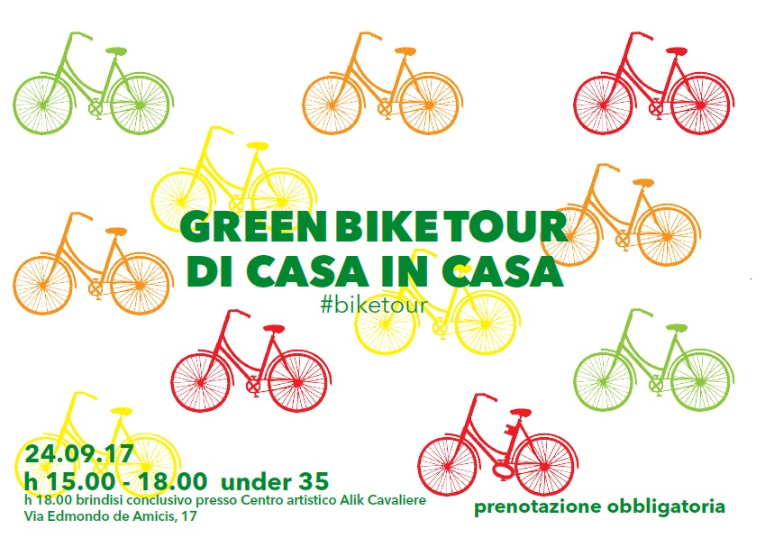 Green Bike Tour – di casa in casa