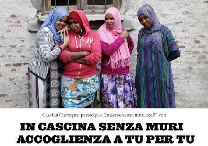 RIFUGIATO IN FAMIGLIA. IN CASCINA SENZA MURI