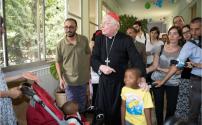 Visita del Cardinale Scola a Casa Suraya 29.07.2015