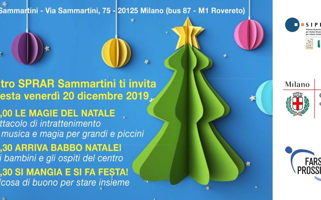 Festa di Natale centro Sprar Sammartini