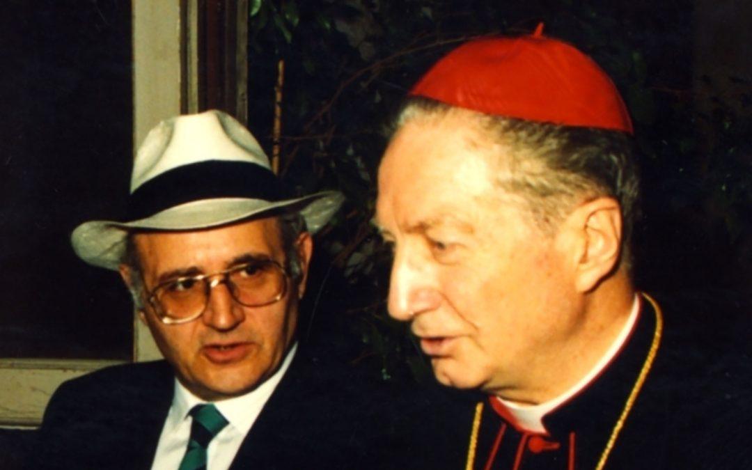 La scomparsa di rav Laras, amico di Martini