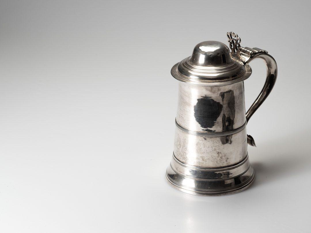 Tankard in argento