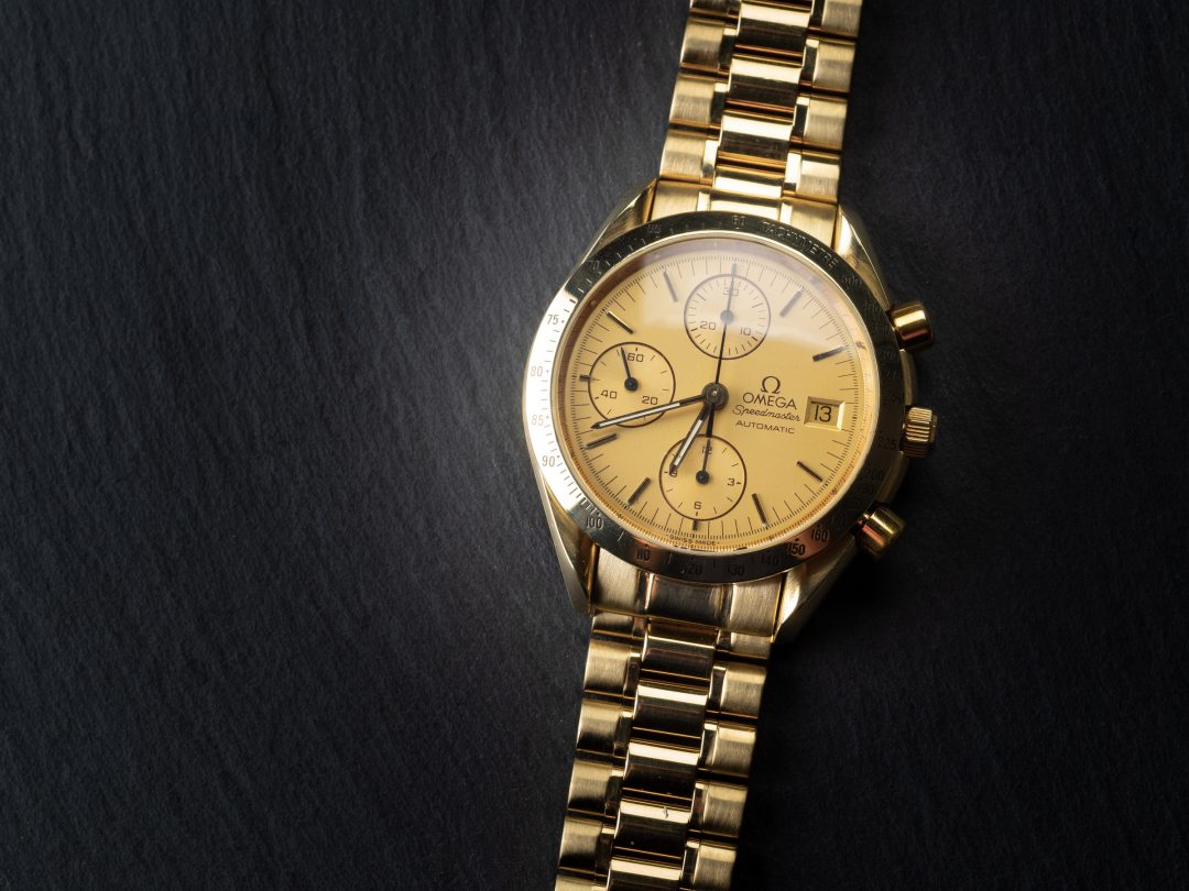 Omega Speedmaster Automatic in oro Ref. 175.043.02
