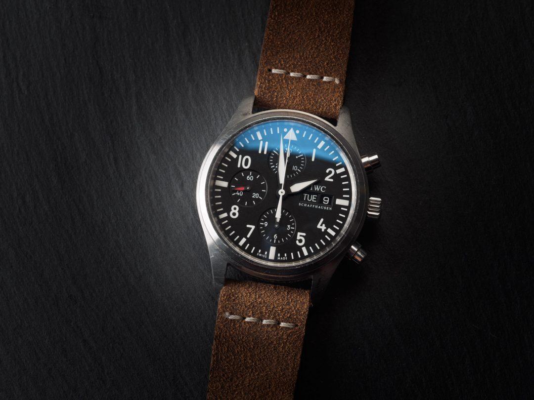 IWC Pilot Chronograph in acciaio Ref. IW371701