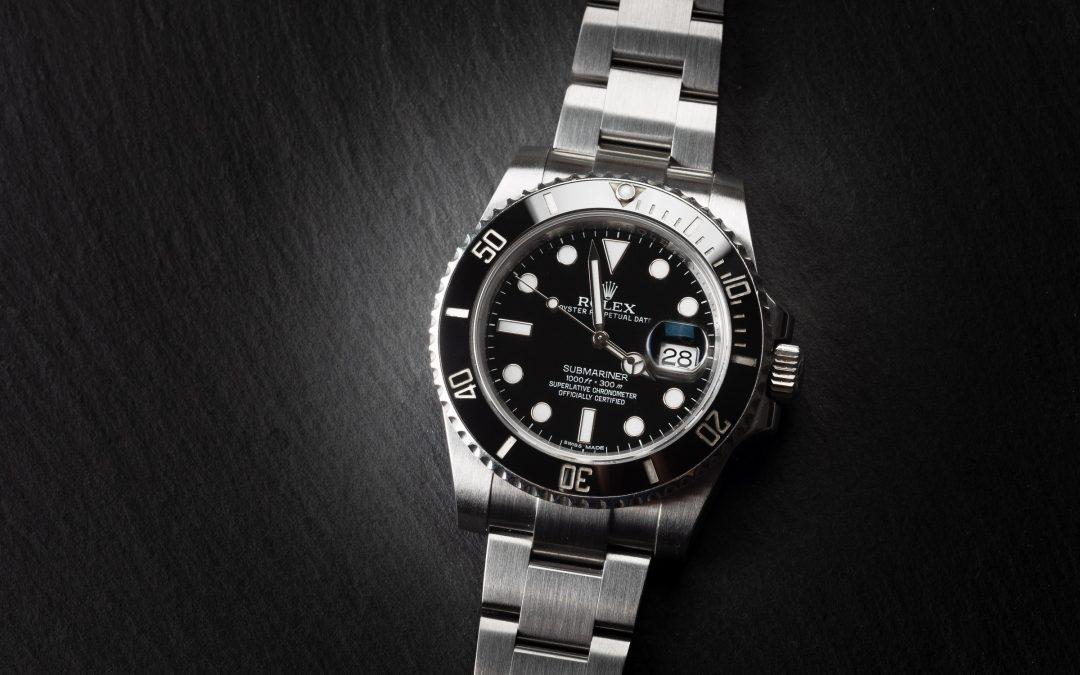 Rolex Submariner Date ceramica in acciaio Ref. 116610LN