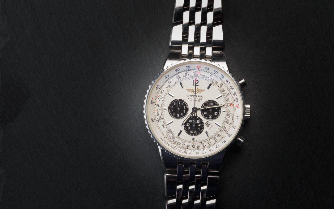 Breitling Navitimer Heritage in acciaio Ref. A35340