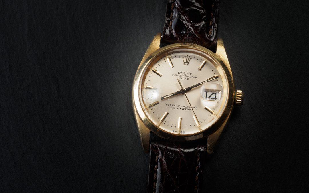 Rolex Date in oro giallo 18kt Ref. 1500