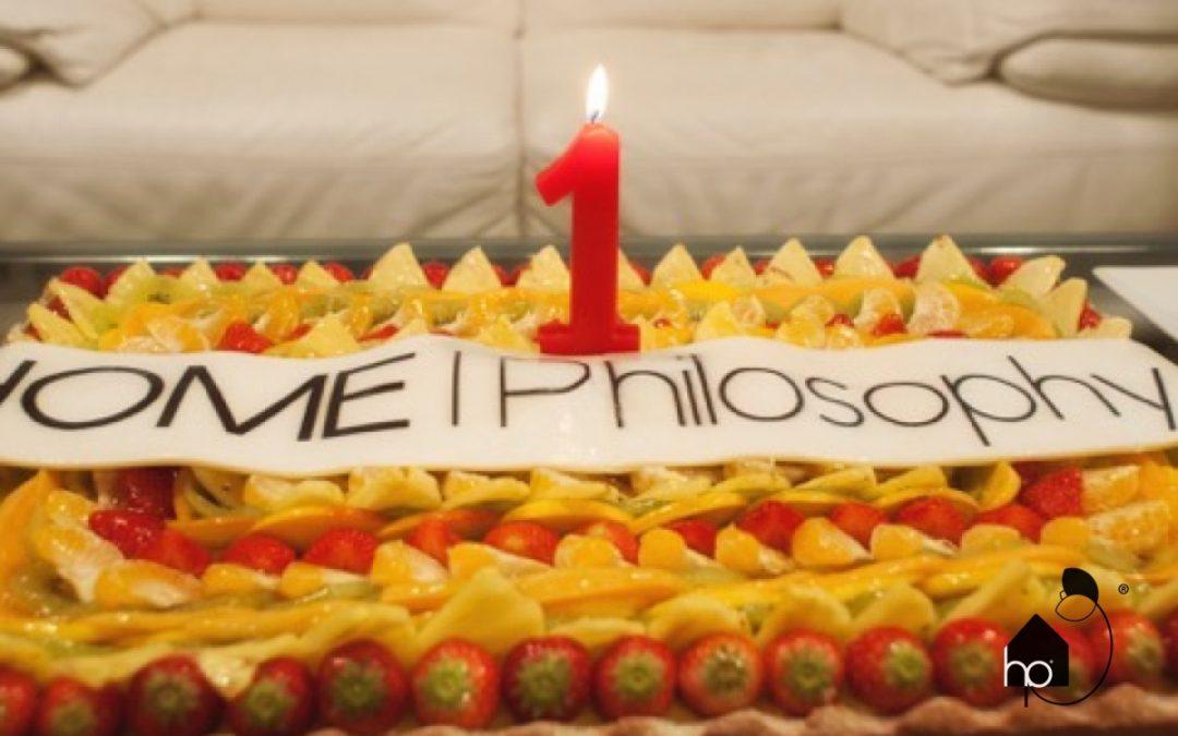 Primo Compleanno di HOME|Philosophy
