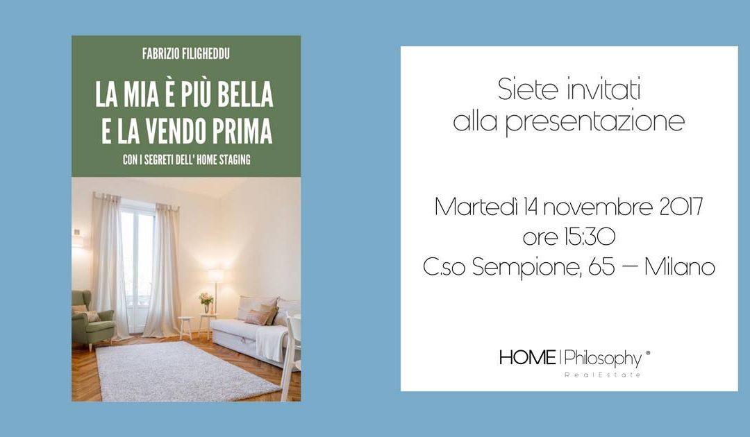 Presentazione libro in HOME|Philosophy – La mia è più bella e la vendo prima