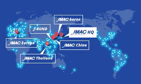 Nuova veste del sito del gruppo JMAC in inglese