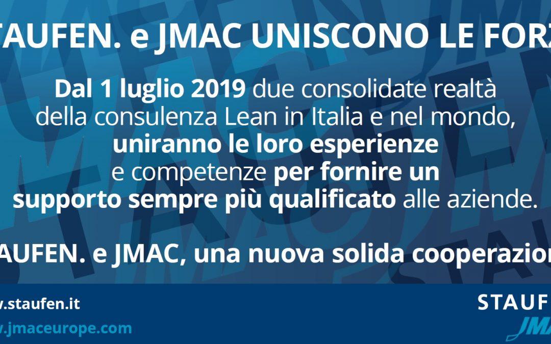 Staufen. e JMAC uniscono le forze