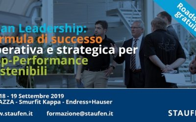 LEAN LEADERSHIP: FORMULA DI SUCCESSO OPERATIVA E STRATEGICA PER TOP PERFORMANCE SOSTENIBILI
