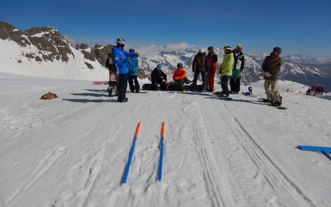 Corso aggiornamento Maestri di Snowboard 2018/2019