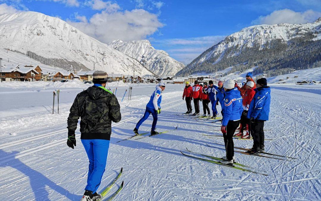 Corso aggiornamento sci di fondo a Livigno dal 15 al 17 novembre