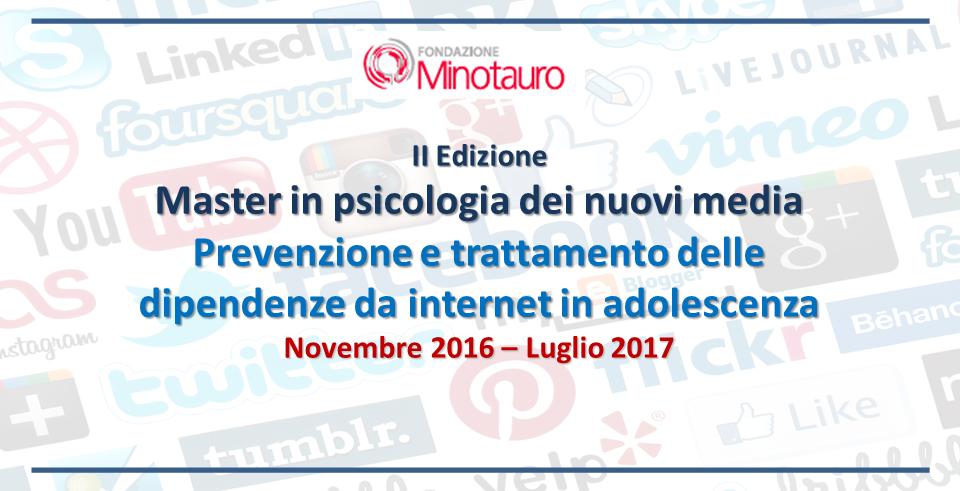 II Edizione del Master in psicologia dei nuovi media