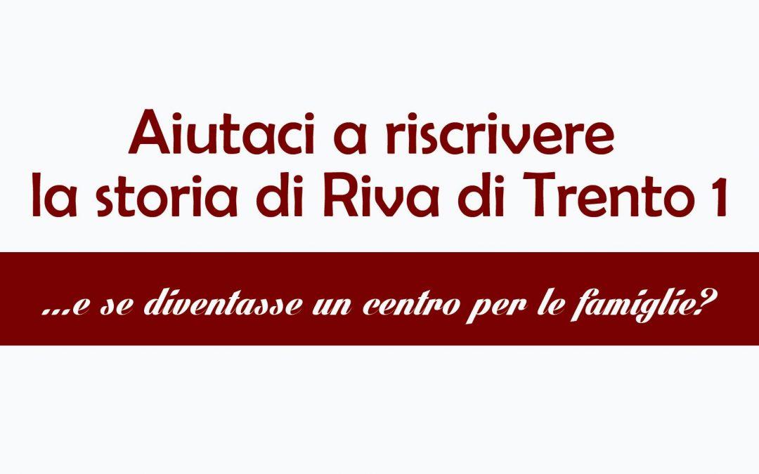 INAUGURAZIONE SPAZIO DI VIA RIVA DI TRENTO – DOMENICA 9 NOVEMBRE 2014
