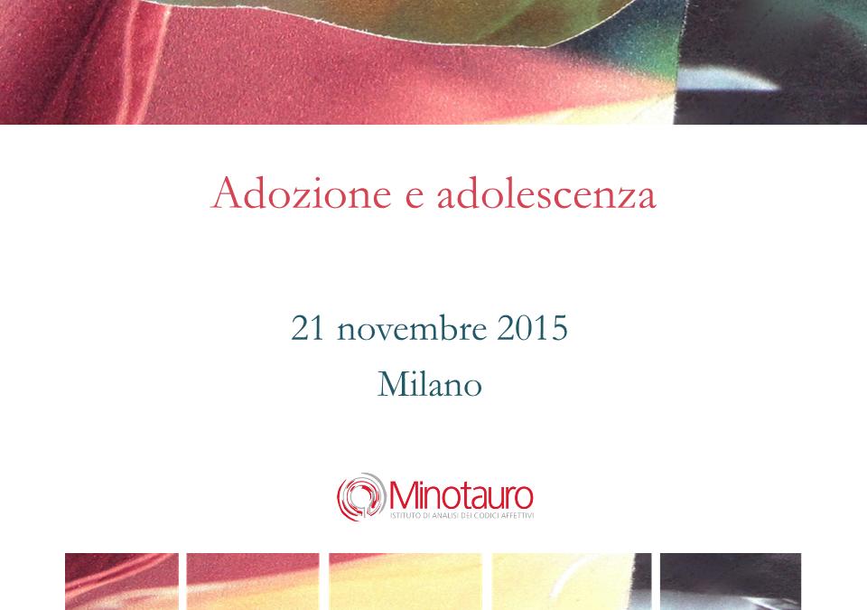 Adozione e adolescenza – Slides del seminario del 21/11/2015