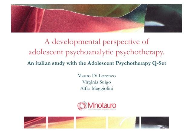 Cosa accade nella psicoterapia dell'adolescenza?