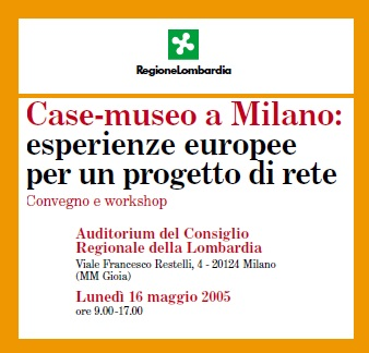 Case-museo a Milano: esperienze europee per un progetto di rete