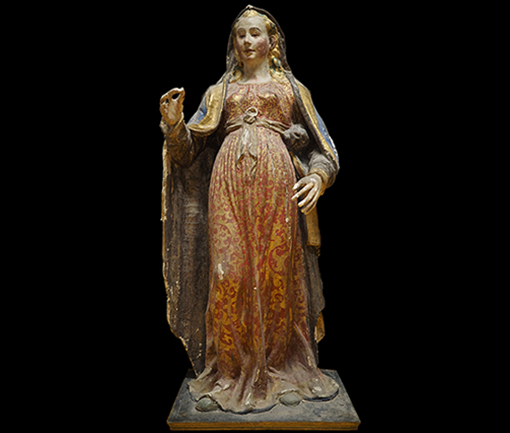 Fundraising campaign for the restoration of the Virgin of Norcia