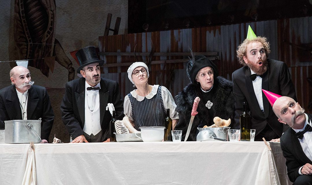 A kind of Dr Jekyll & Mr Hyde at the Elfo Puccini (in Italian)