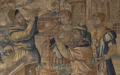 Paintings and tapestries: a collection in art and in time